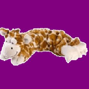 Magnetron knuffel Hot pak- Giraf