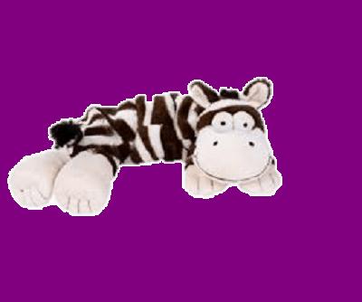 Magnetron knuffel Hot pak- Zebra