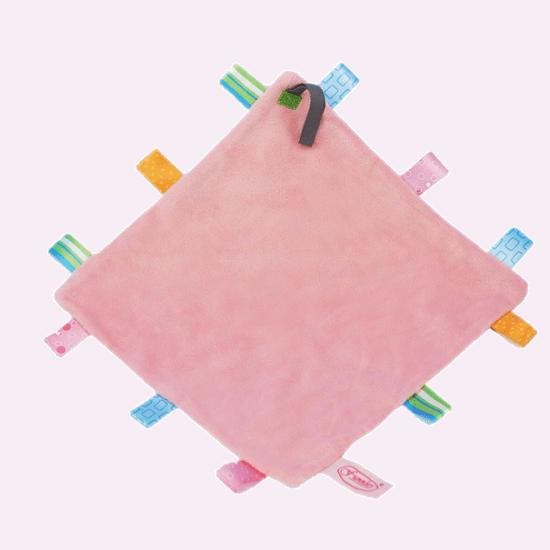funnies label speendoek licht roze
