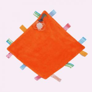 funnies label speendoekje oranje
