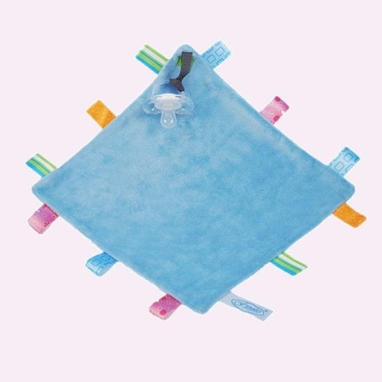 funnies label speendoek licht blauw
