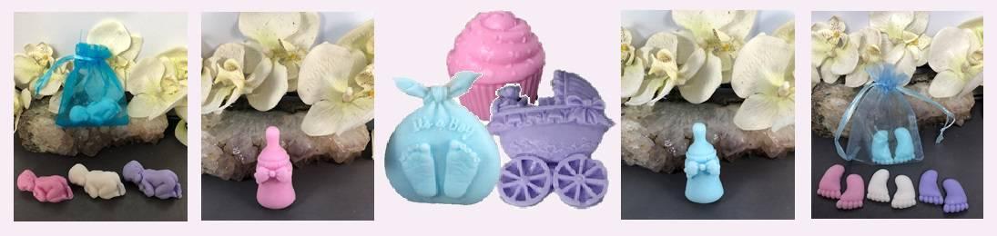 voorbeelden geboortebedankjes zeepjes