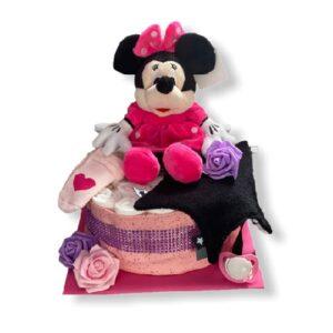 Luiertaarten met Minnie mouse