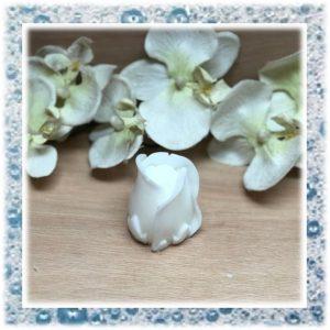 Huwelijkbedankjes van Zeep een roos in Knop