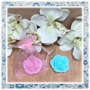 kleine roosjes van zeep