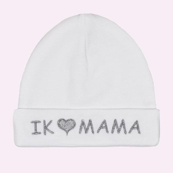 muts wit Ik hou van Mama