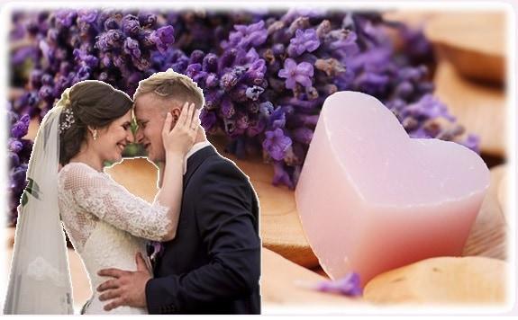 zeepjes huwelijk