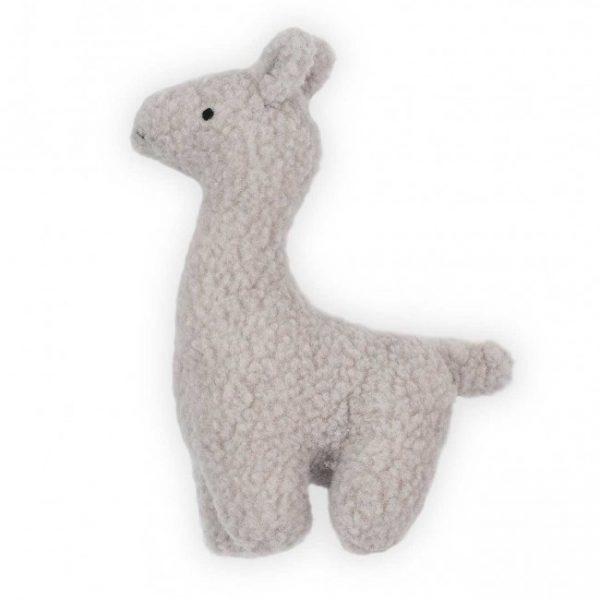 Kleine grijze knuffel lama 30cm van Jollein