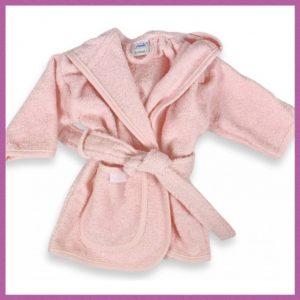 Baby badjas blush