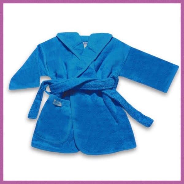 Baby badjas turquoise