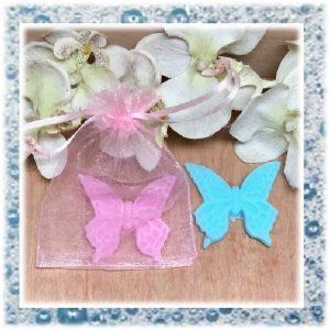 zeep bedankje een vlinder