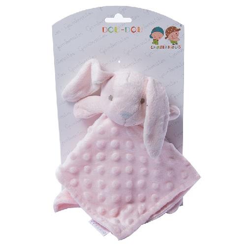 Gamberritos knuffeldoekje konijn roze