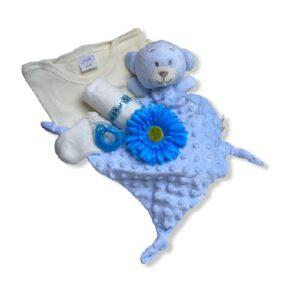 Kraammand met Knuffeldoekje Teddybeer