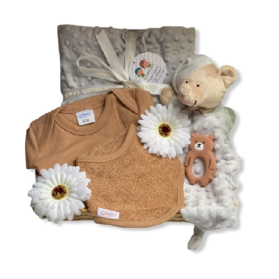 Zwangerschapskado met Luxe Knuffeldoekje